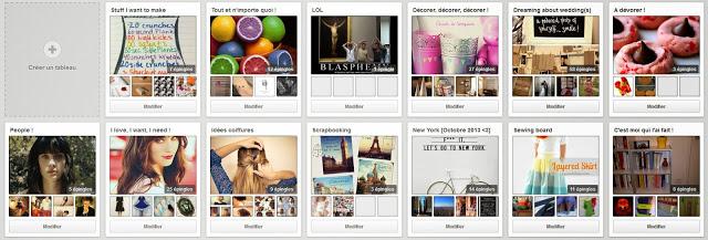 Tableaux-Pinterest
