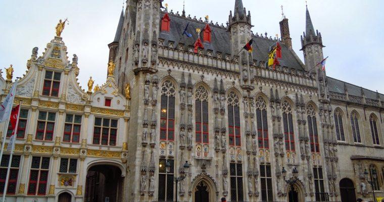 La petite Venise du Nord : Bruges