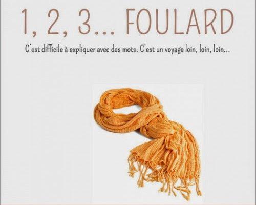 1, 2, 3… Foulard
