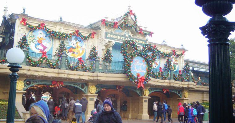 Petit tour à Disneyland en période de Noël