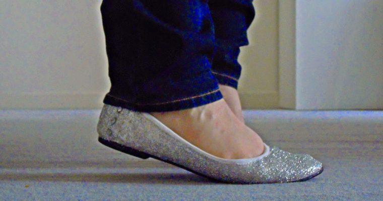 Des paillettes à mes pieds ! [D.I.Y. Inside]