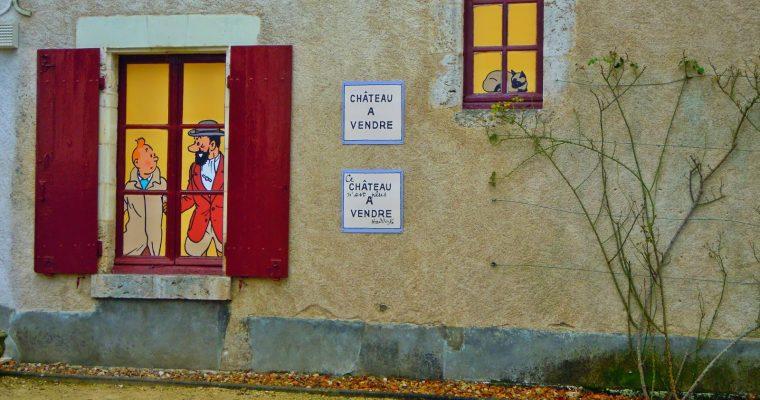 Carte Postale #14 : Exposition Les Secrets de Moulinsart