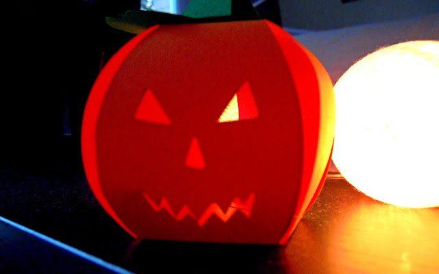 Challenge Halloween : une citrouille en papier [D.I.Y.]