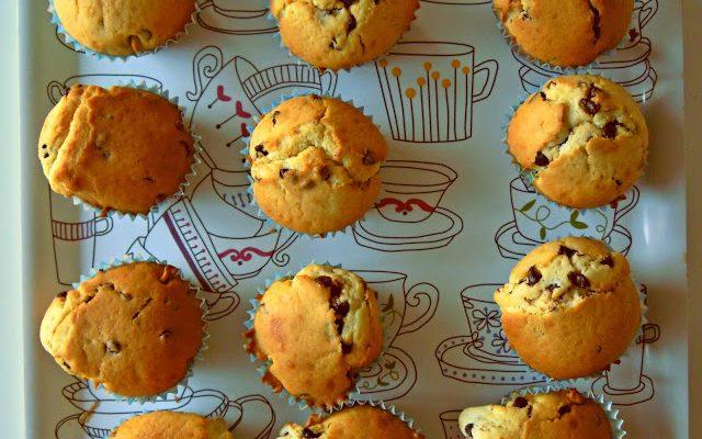 Petits muffins coeur Nutella