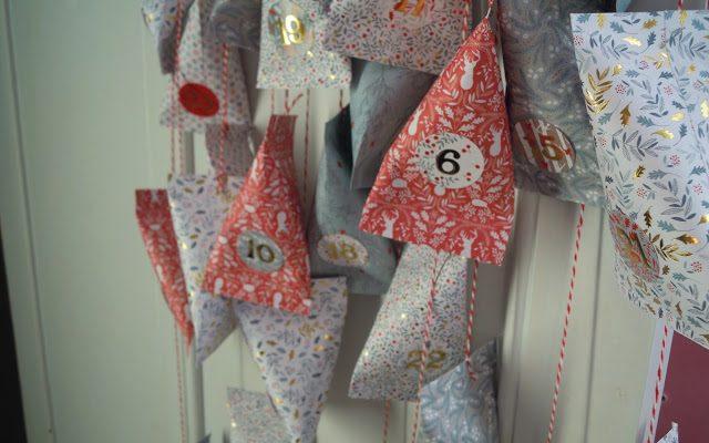 DIY de Noël : Calendrier de l'Avent