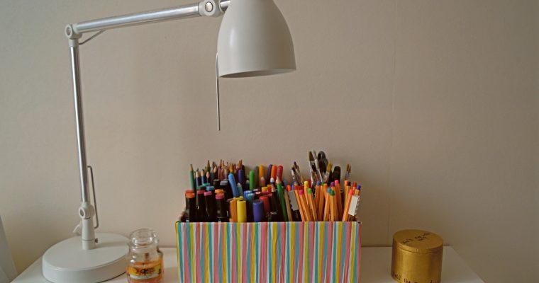 DIY : Boîte à crayons