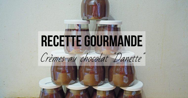 Crèmes au chocolat, façon Danette