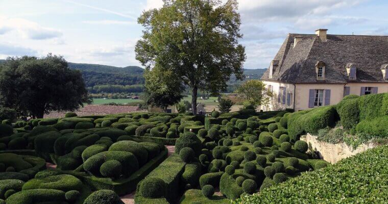 Carte postale #51 : Les Jardins de Marqueyssac